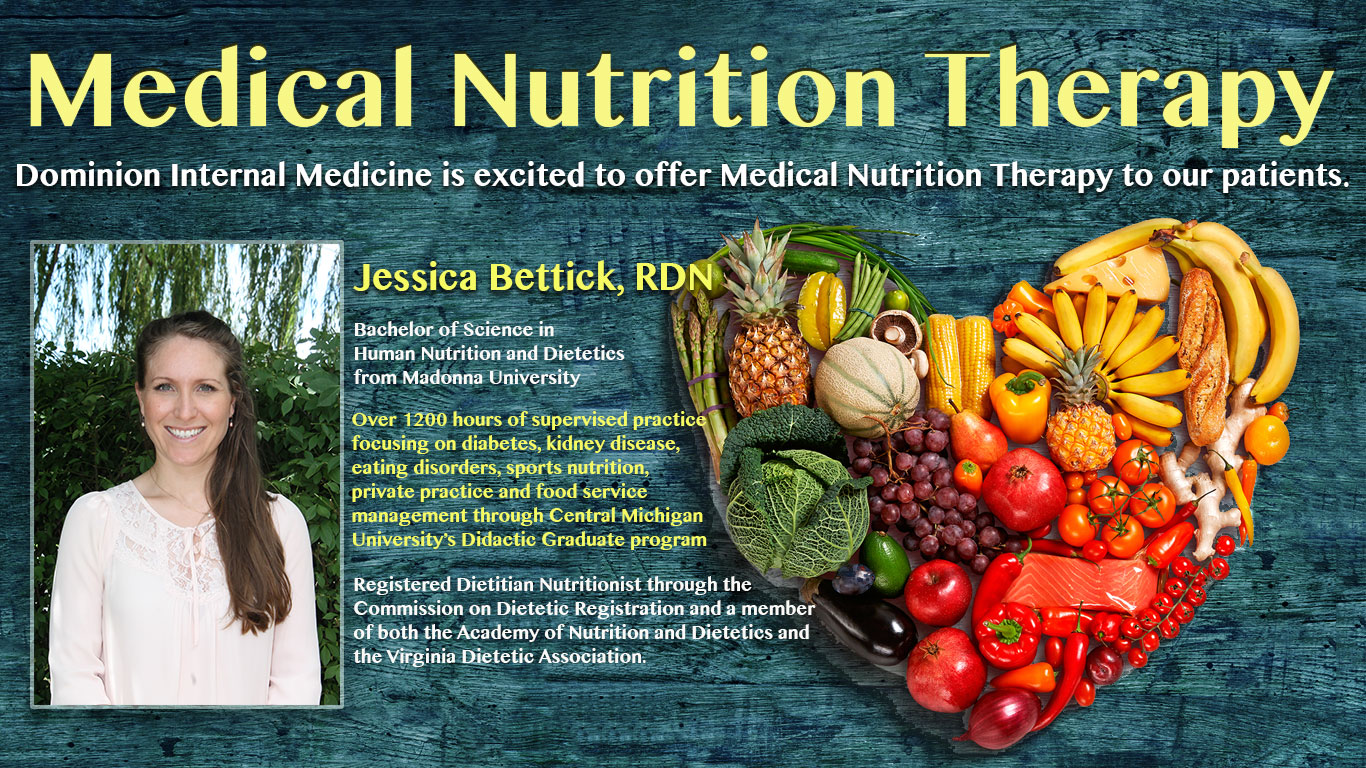 Medical Nutrition Therapy Dominion Internal Medicine